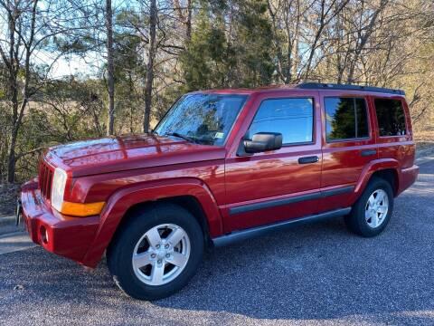 2006 Jeep Commander for sale at Coastal Auto Sports in Chesapeake VA