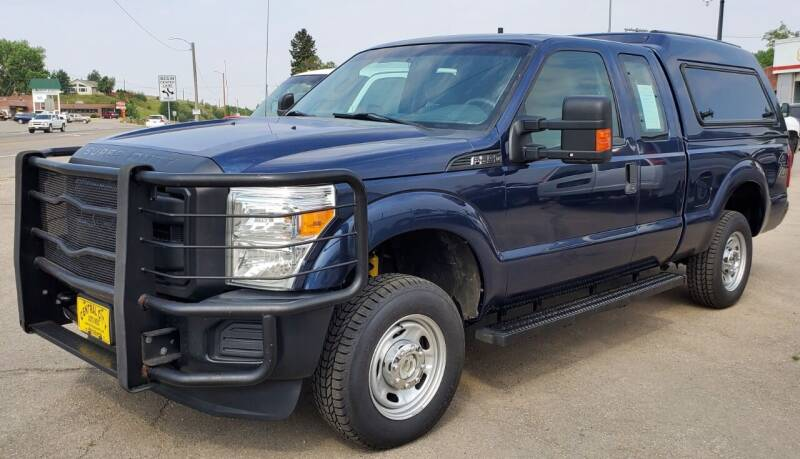 2014 Ford F-250 Super Duty for sale at Central City Auto West in Lewistown MT