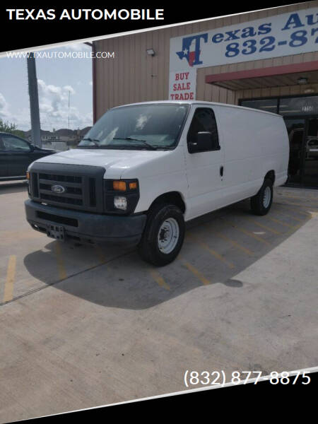 2009 Ford E-Series Cargo for sale in Houston, TX