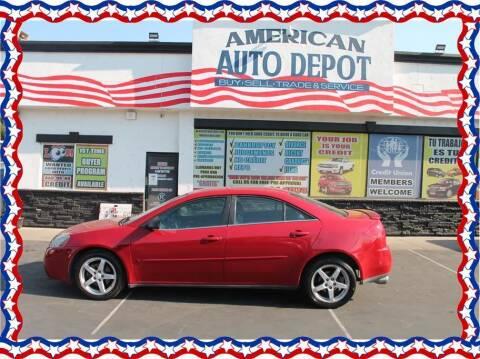 2007 Pontiac G6 for sale at American Auto Depot in Modesto CA