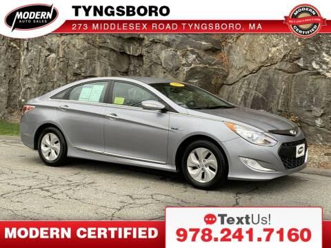 2015 Hyundai Sonata Hybrid for sale at Modern Auto Sales in Tyngsboro MA