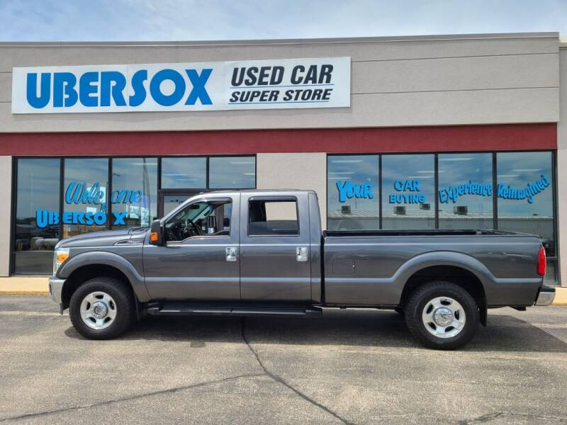 2015 Ford F-250 Super Duty for sale at Ubersox Used Car Superstore in Monroe WI