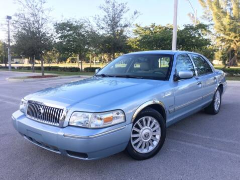2010 Mercury Grand Marquis for sale at FIRST FLORIDA MOTOR SPORTS in Pompano Beach FL