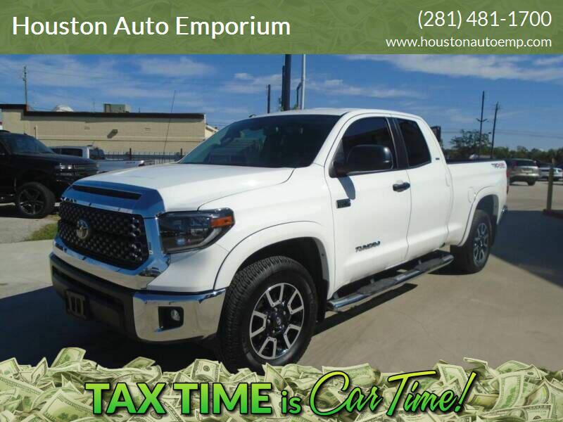 2019 Toyota Tundra for sale at Houston Auto Emporium in Houston TX
