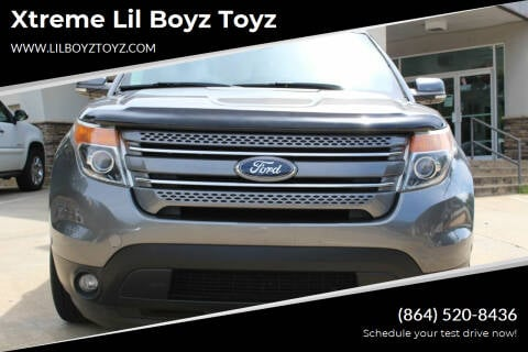2014 Ford Explorer for sale at Xtreme Lil Boyz Toyz in Greenville SC