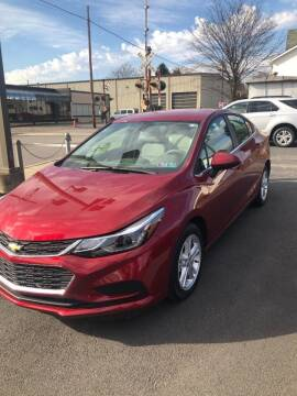 2017 Chevrolet Cruze for sale at Red Top Auto Sales in Scranton PA