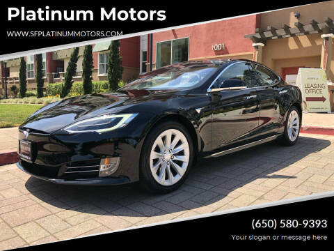 2018 Tesla Model S for sale at Platinum Motors in San Bruno CA