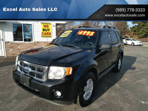 2009 Ford Escape for sale at Excel Auto Sales LLC in Kawkawlin MI