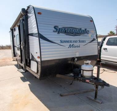2017 Keystone Springdale for sale at GQC AUTO SALES in San Bernardino CA
