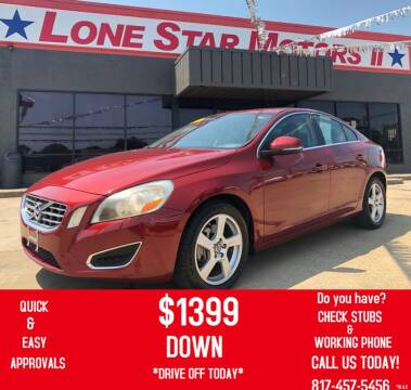 2013 Volvo S60 for sale at LONE STAR MOTORS II in Fort Worth TX