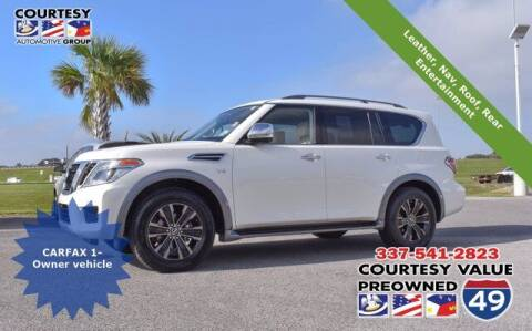 2018 Nissan Armada for sale at Courtesy Value Pre-Owned I-49 in Lafayette LA