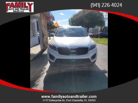 2018 Kia Sorento for sale at Family Auto and Trailer Sales LLC in Port Charlotte FL