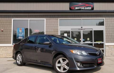2013 Toyota Camry for sale at CK MOTOR CARS in Elgin IL