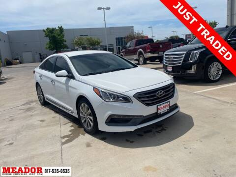 2015 Hyundai Sonata for sale at Meador Dodge Chrysler Jeep RAM in Fort Worth TX