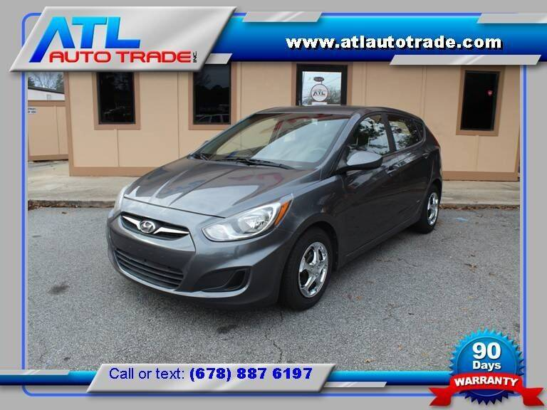 2012 Hyundai Accent for sale at ATL Auto Trade, Inc. in Stone Mountain GA
