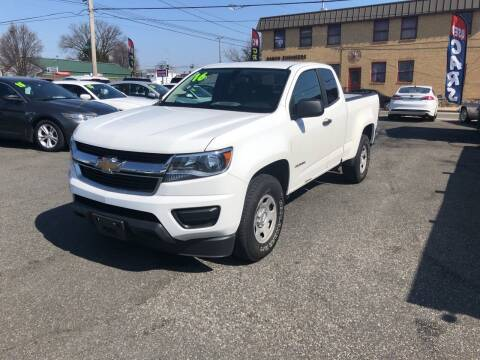 2016 Chevrolet Colorado for sale at Sharon Hill Auto Sales LLC in Sharon Hill PA