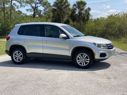 2012 Volkswagen Tiguan for sale at D & D Used Cars in New Port Richey FL