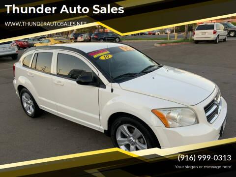 2010 Dodge Caliber for sale at Thunder Auto Sales in Sacramento CA