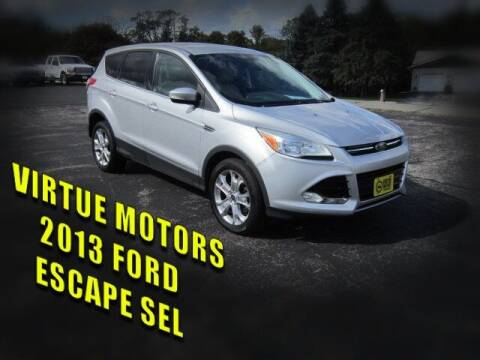2013 Ford Escape for sale at Virtue Motors in Darlington WI