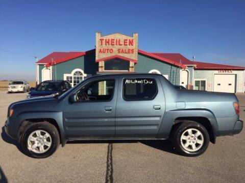 2007 Honda Ridgeline for sale at THEILEN AUTO SALES in Clear Lake IA