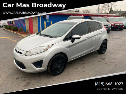 2012 Ford Fiesta for sale at Car Mas Broadway in Crest Hill IL