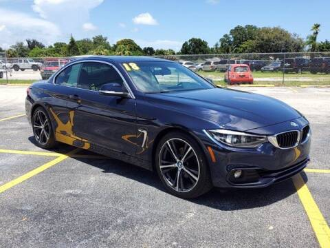 2018 BMW 4 Series for sale at GATOR'S IMPORT SUPERSTORE in Melbourne FL