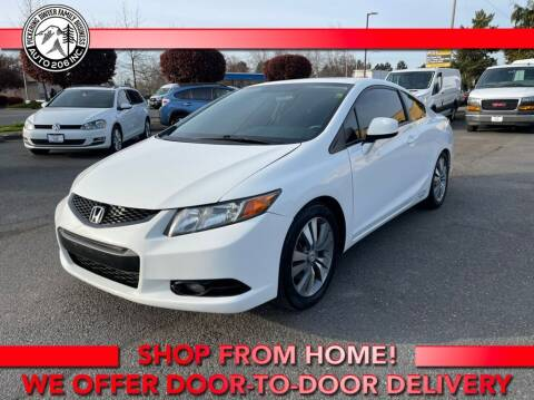 2012 Honda Civic for sale at Auto 206, Inc. in Kent WA