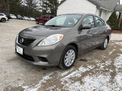 2013 Nissan Versa for sale at Williston Economy Motors in Williston VT