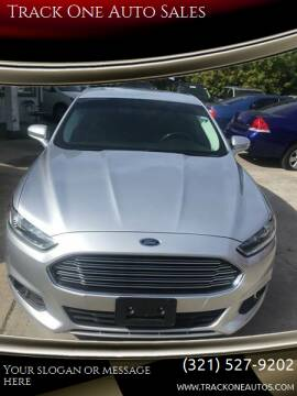 2013 Ford Fusion for sale at Track One Auto Sales in Orlando FL