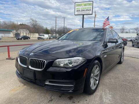 2014 BMW 5 Series for sale at Shock Motors in Garland TX