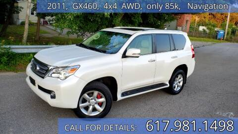 2011 Lexus GX 460 for sale at Wheeler Dealer Inc. in Acton MA