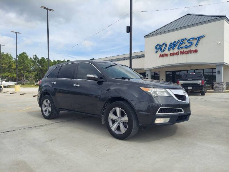 2013 Acura MDX for sale at 90 West Auto & Marine Inc in Mobile AL