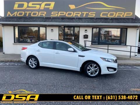 2012 Kia Optima for sale at DSA Motor Sports Corp in Commack NY
