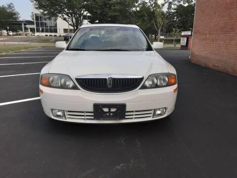 2000 Lincoln LS for sale at Fredericksburg Auto Finance Inc. in Fredericksburg VA