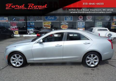 2016 Cadillac ATS for sale at Ford Road Motor Sales in Dearborn MI