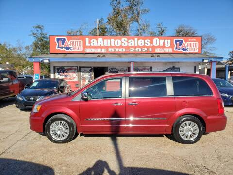 2015 Chrysler Town and Country for sale at LA Auto Sales in Monroe LA