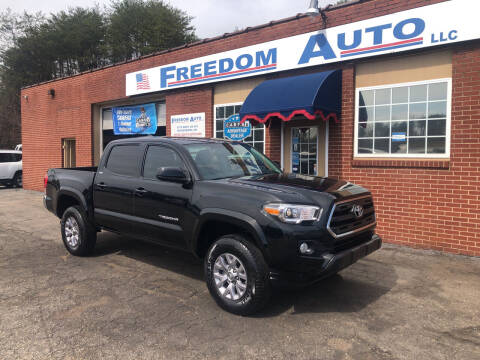 2017 Toyota Tacoma for sale at FREEDOM AUTO LLC in Wilkesboro NC