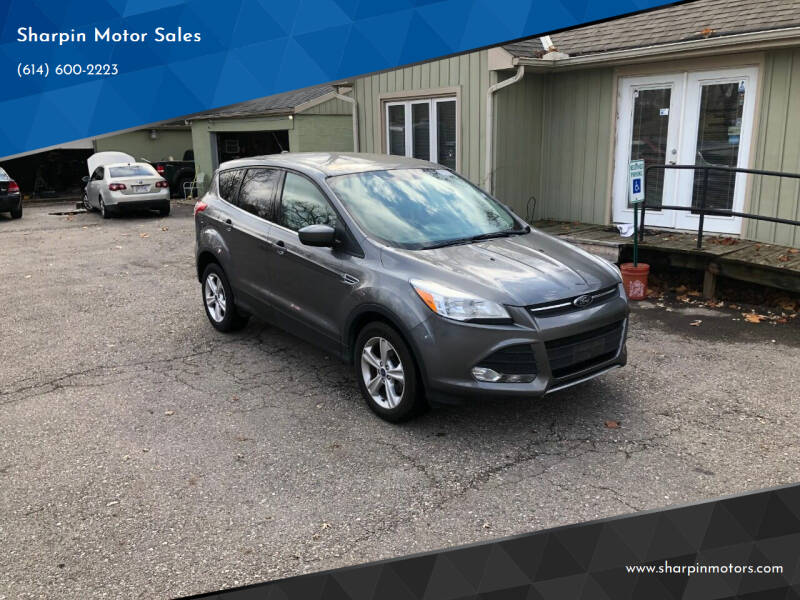 2014 Ford Escape for sale at Sharpin Motor Sales in Columbus OH