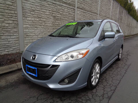 2012 Mazda MAZDA5 for sale at Matthews Motors LLC in Algona WA