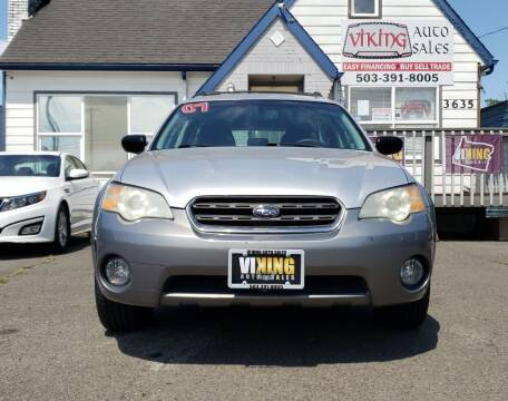 2007 Subaru Outback for sale at VIking Auto Sales LLC in Salem OR
