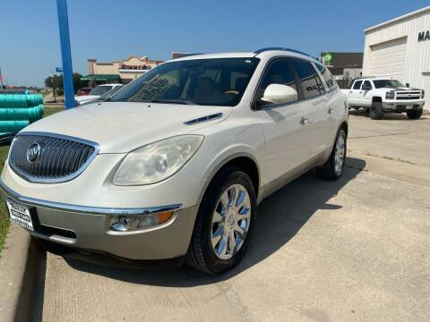 2012 Buick Enclave for sale at MARLER USED CARS in Gainesville TX