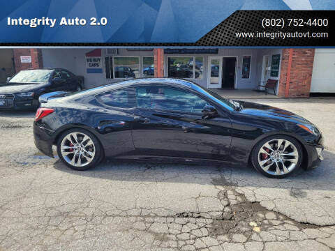 2013 Hyundai Genesis Coupe for sale at Integrity Auto 2.0 in Saint Albans VT