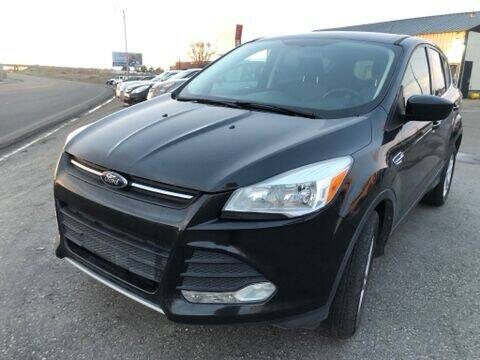 2015 Ford Escape for sale at BELOW BOOK AUTO SALES in Idaho Falls ID