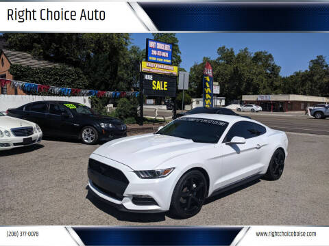 2015 Ford Mustang for sale at Right Choice Auto in Boise ID