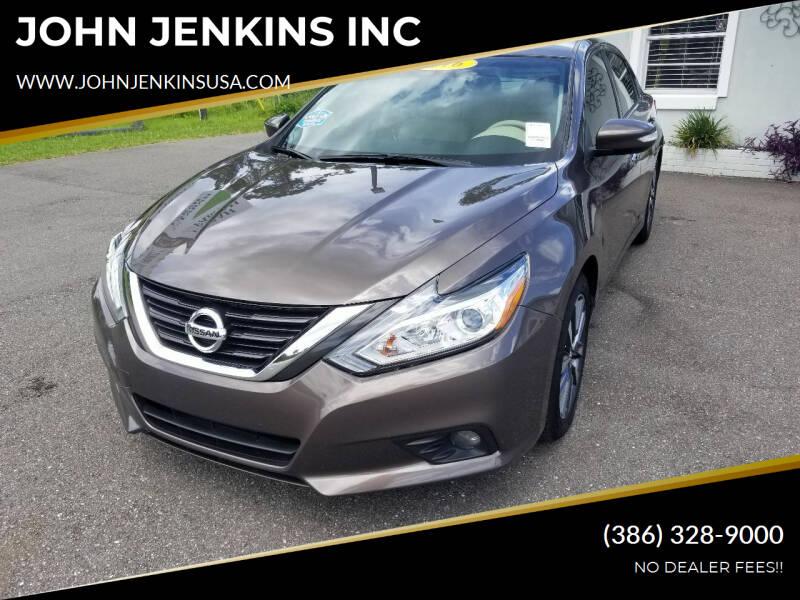 2016 Nissan Altima for sale at JOHN JENKINS INC in Palatka FL