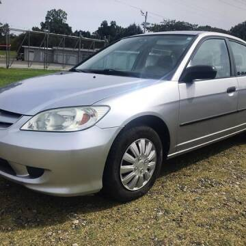 2005 Honda Civic for sale at Cutiva Cars in Gastonia NC
