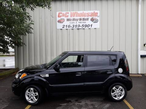 2010 Kia Soul for sale at C & C Wholesale in Cleveland OH