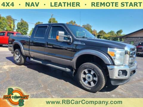 2014 Ford F-250 Super Duty for sale at R & B CAR CO - R&B CAR COMPANY in Columbia City IN