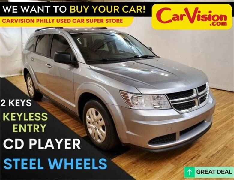 2017 Dodge Journey for sale at Car Vision Mitsubishi Norristown - Car Vision Philly Used Car SuperStore in Philadelphia PA