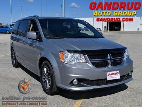 2017 Dodge Grand Caravan for sale at Gandrud Dodge in Green Bay WI